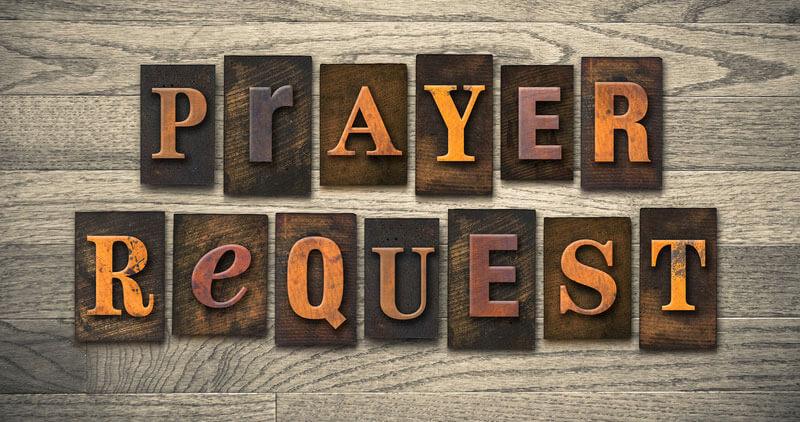 ask for prayer